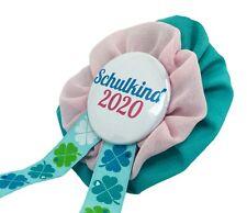Orden Einschulung Glück Schultüte Schulkind 2020 Anstecker Button Zuckertüte
