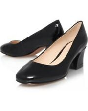 Nine West Women's Spotlight Court Shoes Black Size 7 EU 41 NH08 98