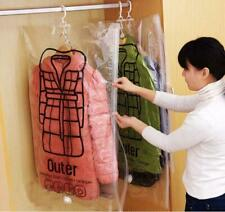Vacuum Bag For Clothes Foldable Compressed Organizer Quilt Seal Storage Bag