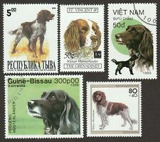 Munsterlander * Int'l Dog Stamp Collection *Great Gift Idea
