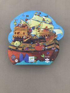 Djeco 'Barbarossa's Boat' - Pirate ship 54 piece jigsaw puzzle