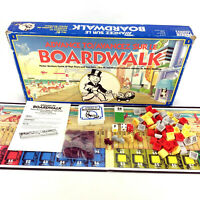 Advance To Boardwalk Board Game Vintage 1985 High Rises Fast Falls Complete
