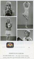SARAH KENNEDY AS NURSE AND CHEERLEADER IN LEOTARDE LAUGH-IN 1972 NBC TV PHOTO