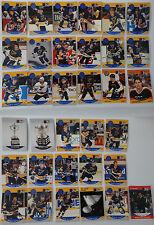 1990-91 Pro Set St. Louis Blues Team Set of 34 Hockey Cards