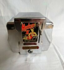 Vintage Retro Madam X 1 Cent Fortune Teller Coin Operated TableTop Napkin Holder