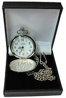 Engraved Pocket Watch Father of the Bride Groom Best Man Usher Wedding Gift