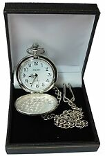 Engraved Pocket Watch Father of The Bride Groom Usher Wedding Gift Best Man