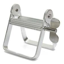 Aluminum Silver Tone Tube Squeezer Pro For Hair Dye Use With Rotating Handle