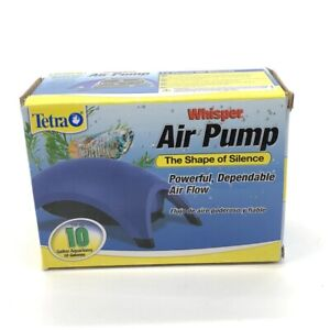 Tetra Whisper Air Pump for up to 10 Gallons Aquariums Powerful Quiet Operation