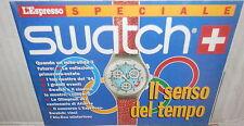 L ESPRESSO SPECIALE SWATCH Il senso del tempo 1994 Antiquariato Orologeria di e