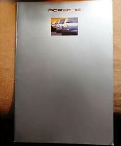 Nice D'Occasion Original 1993 Porsche 911 928 968 Couleur Sales Brochure W Data