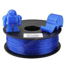 Filament 3D PLA Effet paillette Bleu 1.75 mm Bobine de 1 kg