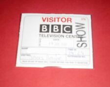 2006 BBC SHOW SPORTS RELIEF MEDIA PRESS PASS TICKET