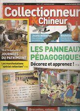 COLLECTIONNEUR & CHINEUR N°133-PANNEAUX PEDAGOGIQUES/JOUETS MILITAIRES/BOUTEILLE