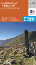 Llangollen and Berwyn Explorer Map 255 - OS - Ordnance Survey
