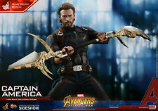 Hot Toys Captain America  Avengers: Infinity War (Movie Promo edition)