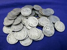 44 Buffalo Dateless ~ No Date Nickels!  Prefect for Carving! - Crafts - Buckles