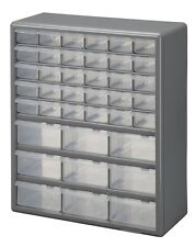 StackOn 39-Drawer Organizer Storage Cabinet Parts Tools Bin Home Office Garage