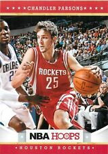 2012 13 Panini NBA Hoops #252 Chandler Parsons Houston Rockets NM Trading Card