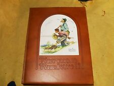 Norman Rockwell's America Leather Bound Limited Edition 3518 of 8000 w/ Box