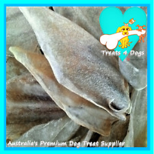 BEEF EARS 50 TREATS 4 DOGS Natural Dried Pet Dog Treats Less fat than pig ears