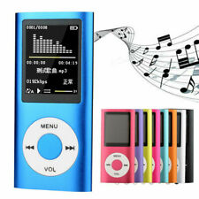 "MP3 MP4 Music Media Player 1.8"" LCD Screen Mini FM Radio Support TF MicroSD Card"