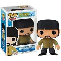 Rare Vaulted George Harrison Beatles Funko Pop Vinyl New in Mint Box + Protector