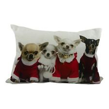 Mars & More Kissen Weihnachten Chihuahuas Dekokissen Deko Dekoration Neu GKHKKC