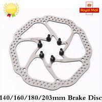 Bicycle  MTB Disc Brake Front & Rear Disc 140/160/180/203mm Rotor Bicycle Brake