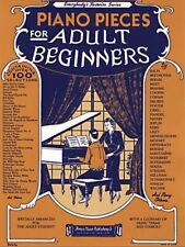 Piano Pieces for the Adult Beginner - Book NEW 014024783