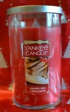 YANKEE CANDLE SPARKLING CINNAMON 12 oz BRAND NEW !