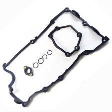 Set Engine Valve Cover Flange Gasket O-Ring for BMW 320i 328i 528i 535i 740i X5