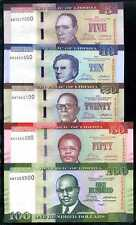 LIBERIA 5+10+20+50+100  DOLLARS  2016  SET 5 PCS  - P 30-35   Unc