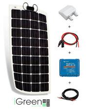 Kit panneau solaire 150W watts 12V pour camping-car flexible fabriqué en Europe