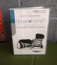CHIP INGRAM House or Home 2-DVD set God's Blueprint For Biblical Parenting