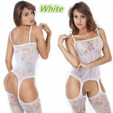 Sexy Lingerie Fishnet Body stockings Dress Underwear Babydoll Sleepwear NY9801W