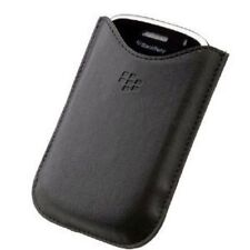 BLACKBERRY BOLD 9000 9700 9780 hdw-16000-001 Custodia in pelle TASCHE TASCA NERO