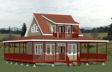 20x20 Home -- PDF Floor Plan -- 718 sq ft -- Model 5E