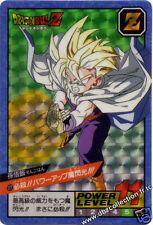 Bandai Dragonball Dragon ball Z Card Carte Power level Battle 5 n°  177