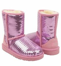 UGG Australia Classic Sparkles Short Boots Lipgloss 5 4 35 Shoes Women Youth NIB