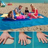 UEncounter Sand Free Beach Mat Camping Outdoor Picnic Magic Sandless Sand Dus...