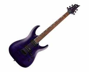 ESP LTD H-200 FM - See-thru Purple - Used