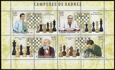 Guinea-Bissau 2008 Champion Chess Moves: Kramnik, Kasperov, Steinitz, Tal - pw69