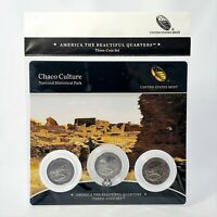 2012 Chaco  America The Beautiful 3 Coin Quarter Set P D S MINTS  ATB PROOF