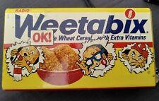 Vintage Weetabix Promotional Radio