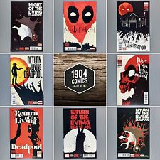 Night and Return of the Living Deadpool #1 2 3 4 First Print NM COMPLETE SETS
