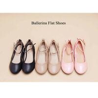 Toddler/Little Kid/Big Kids Girls Ballet Flat Strap Shoes Pump Shoes Size 3 - 13