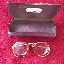 Vintage Round Frame Glasses Cosplay Prop Delicate