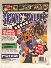 JED DRENNING'S @THE SIGNAL CALLER MAGAZINE WEST VIRGINIA MOUNTAINEERS FOOTBALL