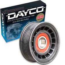 Dayco Drive Belt Idler Pulley for 2003-2013 Chevrolet Silverado 1500 5.3L lj